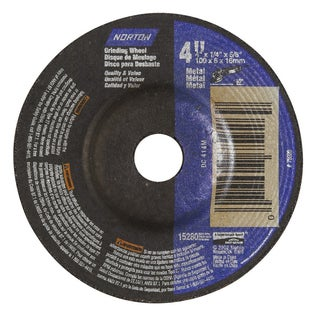 "Norton 42011 4"" X 1/4"" Grinding Wheel"