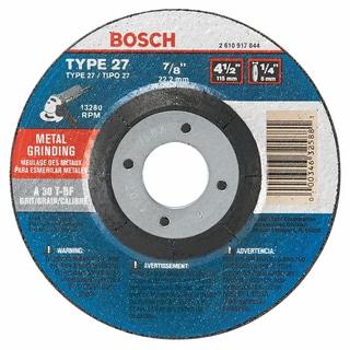 "Bosch GW27M450 4-1/2"" X 7/8"" Grinding Wheel"
