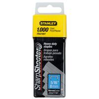 """Stanley Hand Tools TRA705T 5/16"""" Sharp Shooter Narrow Crown H-D Staples 1,000-count"""