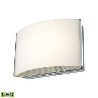 Alico Pandora LED 1-light LED Vanity in Chrome and Opal Glass