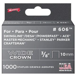 """Arrow Fastener 60630 3/8"""" Wide Crown Heavy Duty Staples"""
