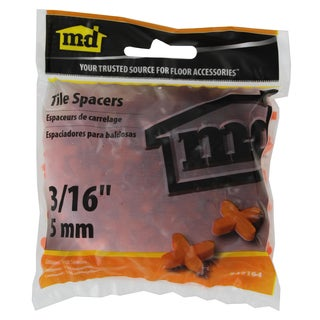 "M-D 49164 3/16"" Tile Spacers 150-count"