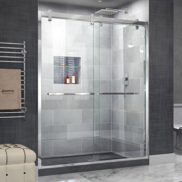 Dreamline Cavalier 56 60 In W X 76 In H Sliding Shower