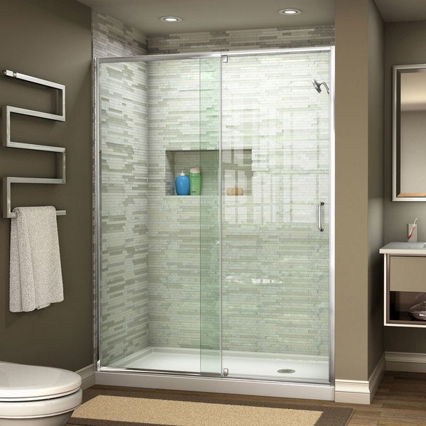 Dreamline Flex 44 48 In W X 72 In H Pivot Shower Door