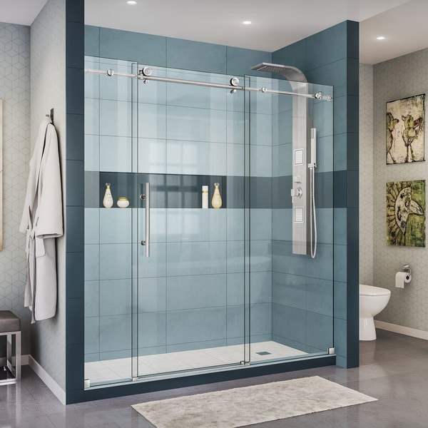 x shower corner french in framed dreamline pin