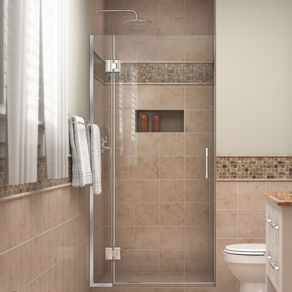 Dreamline Unidoor X 33 In W X 72 In H Hinged Shower Door