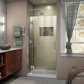DreamLine Unidoor-X 33 in. W x 72 in. H Hinged Shower Door