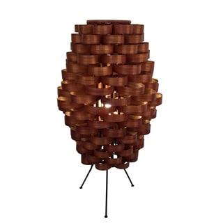 Bamboo Slat Weave Lamp (Philippines)