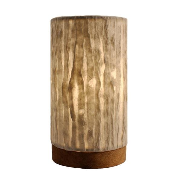 Handmade Paper Cylinder Mini Lines Lamp