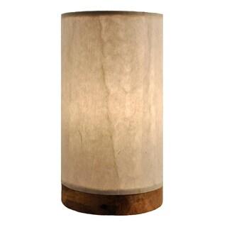 Handmade Paper Cylinder Mini Glacier Lamp (Philippines)