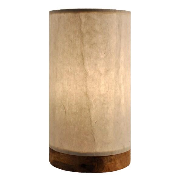 Handmade Paper Cylinder Mini Glacier Lamp Philippines  : Paper Cylinder Lamp Mini Glacier a35043a0 d143 4fde 97f8 2023e62cd6c9600 from www.overstock.com size 600 x 600 jpeg 41kB