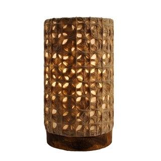 Handmade Paper Cylinder Mini Mesh Lamp (Philippines)