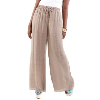 Hadari Women's Wide Leg Casual Pants