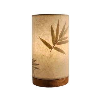 Link to Handmade Paper Cylinder Mini Bamboo Lamp Similar Items in Table Lamps