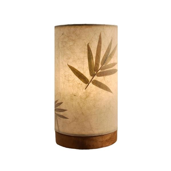 Handmade Paper Cylinder Mini Bamboo Lamp