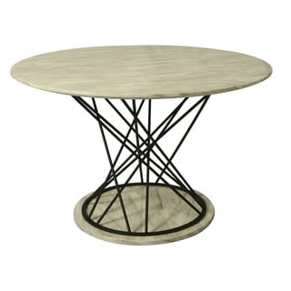 Janette Round Dining Table in Phantom