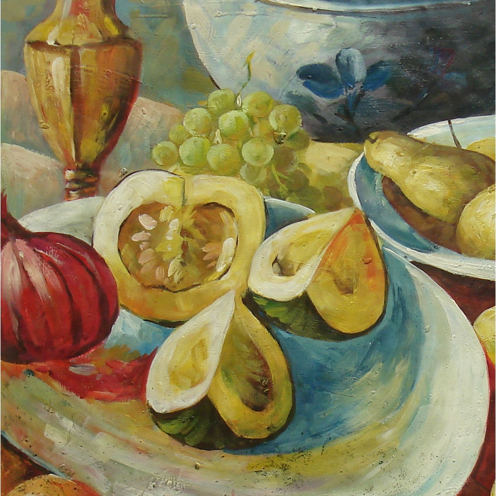 Shop Still Life Featuring Various Kinds Of Fruits Oil Painting On Canvas Wall Art Overstock 11643210