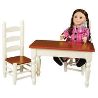 Shop Kidkraft Lil Doll Table And Chair Play Set Free