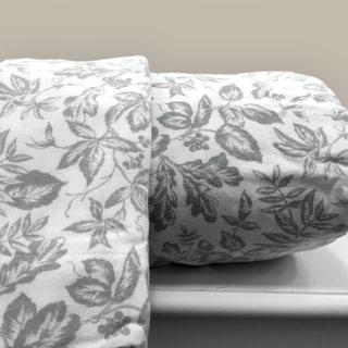 Sage Leaf 100-percent Cotton Flannel Sheet Sets