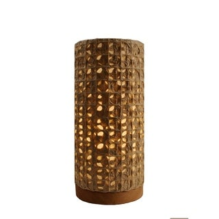Paper Cylinder Mesh Table Lamp (Philippines)