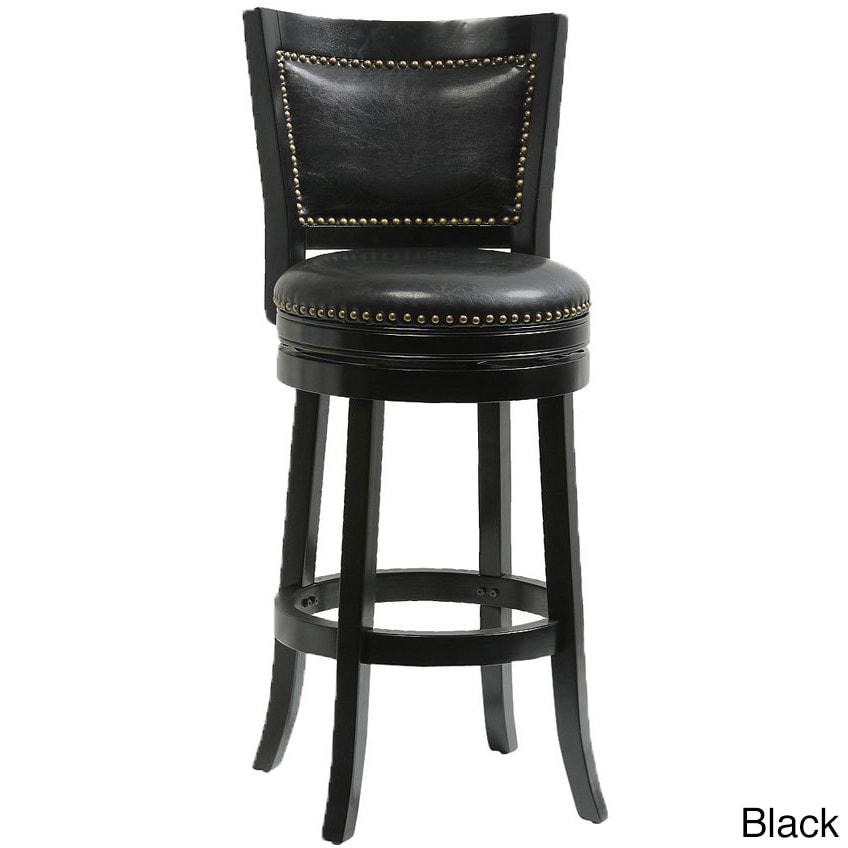 Mintra Bristol Upholstered 30 Inch Swivel Bar Stool Ebay