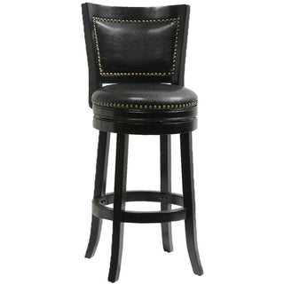 Mintra Bristol Upholstered 30 Inch Swivel Bar Stool