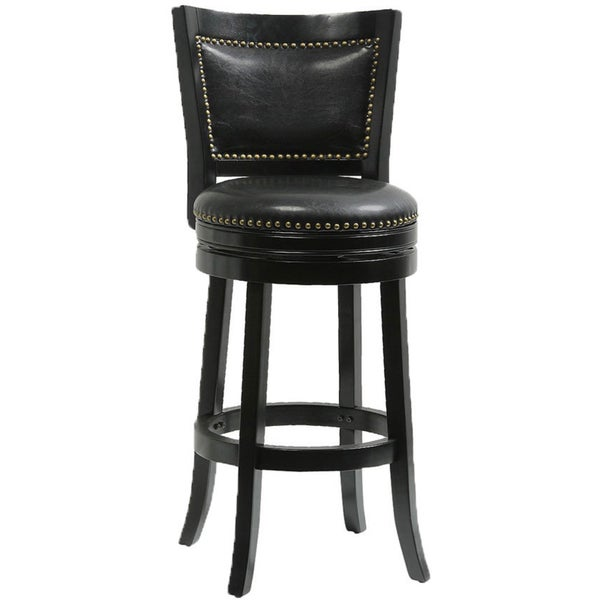 Shop Mintra Bristol Upholstered 30 Inch Swivel Bar Stool