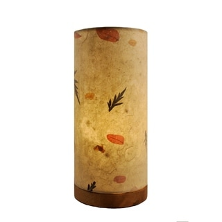 Paper Cylinder Fern Table Lamp (Philippines)