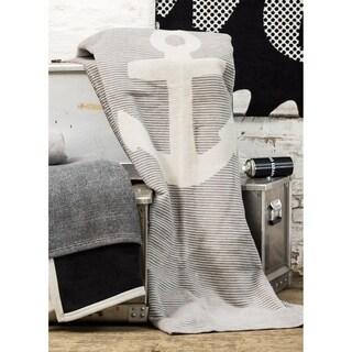 IBENA Sorrento Anchor Oversized Throw Blanket