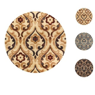 "Home Dynamix Catalina Collection Transitional (7'10"") Round Machine Made Polypropylene Area Rug"
