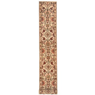 Herat Oriental Indo Hand-knotted Mahal Wool Runner (2'7 x 21')