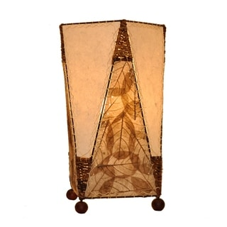 Trapezoid Table Natural Lamp (Philippines)