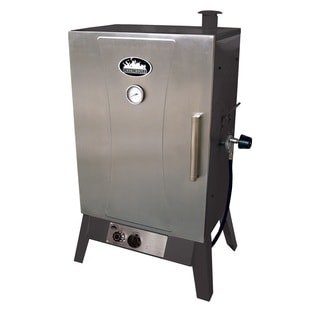 Smokehouse Wide Gas Smoker Silver