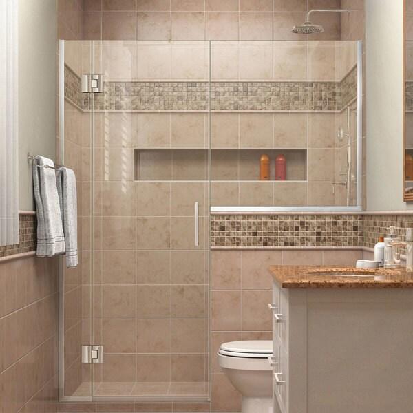 DreamLine Unidoor-X 53 - 53 1/2 in. W x 72 in. H Hinged Shower Door