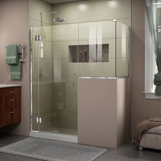 DreamLine Unidoor-X 48 in. W x 40.375 in. D x 72 in. H Hinged Shower Enclosure