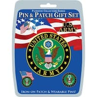 United States Army Pin & Patch Gift Set