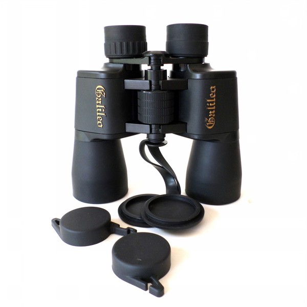 Astronomical Binocular and Case (12 millimeters x 50 millimeters)