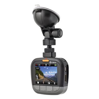 Cobra Electronics CDR855BT Full HD 1080P Dash Cam with Bluetooth Smart Enabled GPS and iRadar Alerts