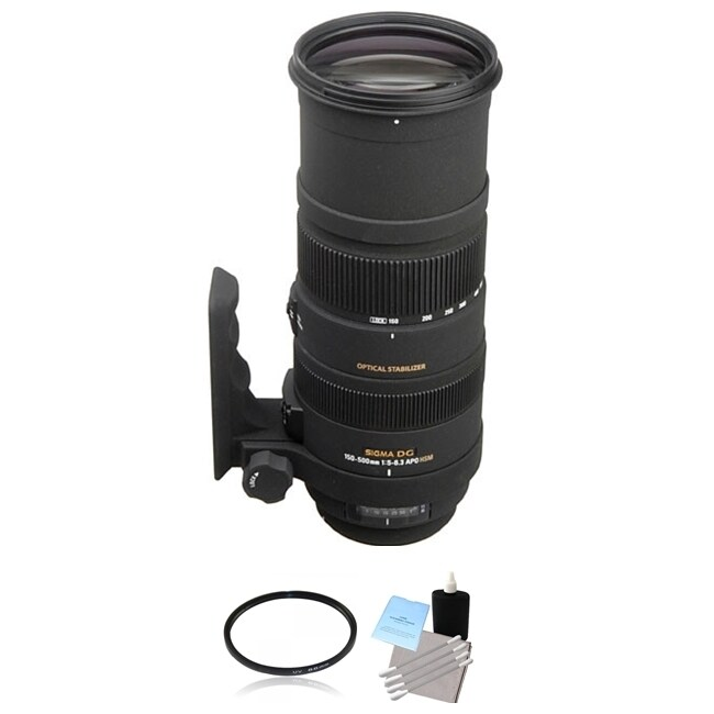 Sigma 150-500mm f/5-6.3 Lens for Nikon F Lens Bundle (Sig...