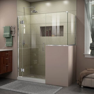 DreamLine Unidoor-X 60 in. W x 40.375 in. D x 72 in. H Hinged Shower Enclosure