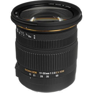 Sigma 17-50mm f/2.8 Zoom Lens for Canon Lens Bundle