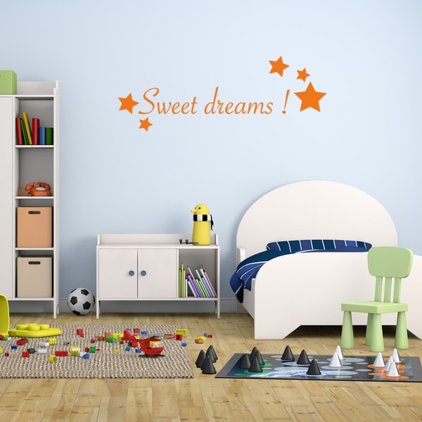 shop sweet dreams vinyl mural wall decal quotes and sayings - on