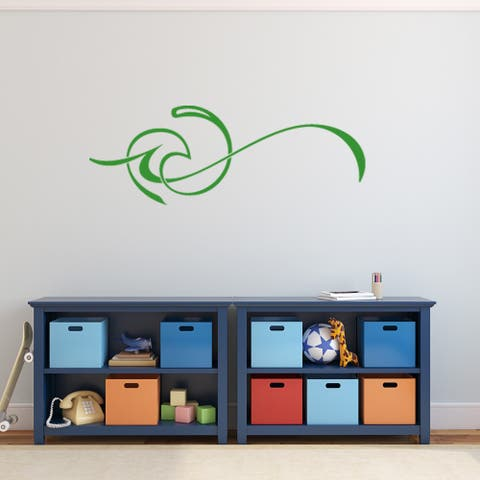 Exotic Wave Vinyl Mural Wall Decal Quotes and Sayings