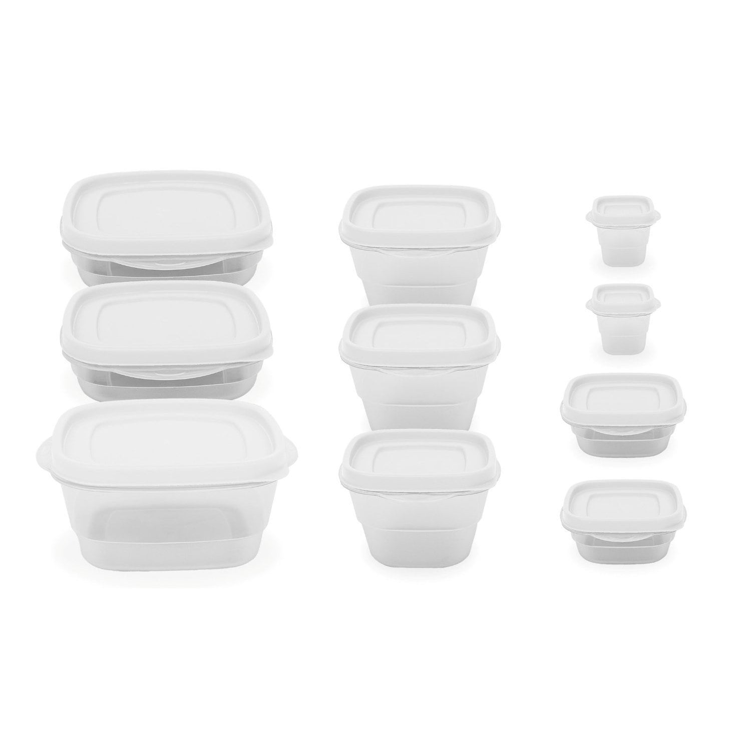 Imperial Home 10 Pc Reusable Food Storage Containers - Tr...