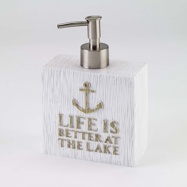 Lake Words Lotion Pump