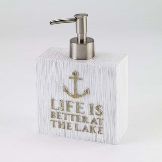 Lake Words Lotion Pump