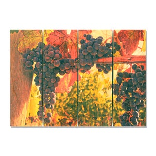 Old Vines 22.5x16 Indoor/ Outdoor Full Color Cedar Wall Art
