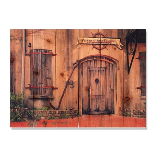 Old South 33x24 Indoor/ Outdoor Full Color Cedar Wall Art