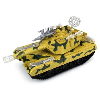 Heavy Attack Battle Battery Operated Bump and Go Toy Tank Car