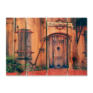Old South 22.5x16 Indoor/ Outdoor Full Color Cedar Wall Art